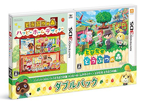Image 1 for Doubutsu no Mori: Happy Home Designer & Tobidase Doubutsu no Mori [Double Pack]