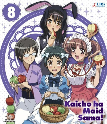 Image for Maid Sama! 8 [Blu-ray+DVD+CD Limited Edition]