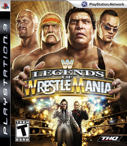 Image for WWE Legends of Wrestlemania