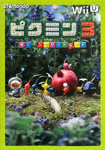 Image for Pikmin 3 The Complete Guide Book / Wii U