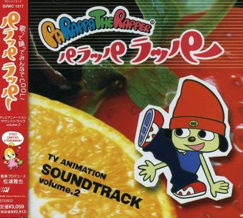 Image 1 for Parappa the Rapper TV Animation Soundtrack Vol.2