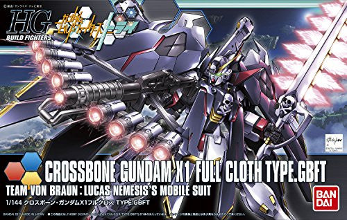 Image 3 for Gundam Build Fighters Try - XM-X1 Crossbone Gundam X-1 Full Cloth - HGBF #035 - 1/144 - Ver. GBF (Bandai)