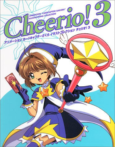 Image 1 for Cardcaptor Sakura Animation Illust Collection Cheerio! #3 Art Book