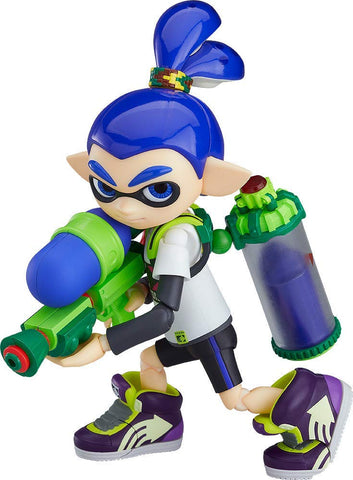 Splatoon - Inkling - Figma #462 - Splatoon Boy (Good Smile Company, Max Factory)