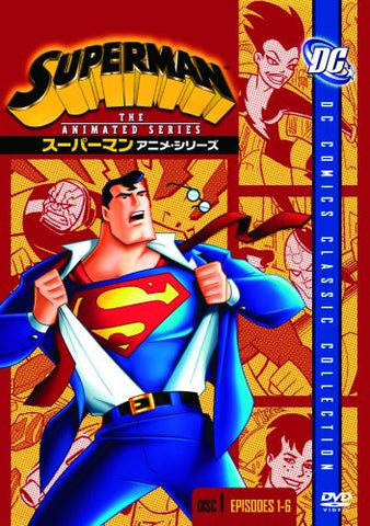 Image for Superman Anime Series Disc1 [Limited Pressing]