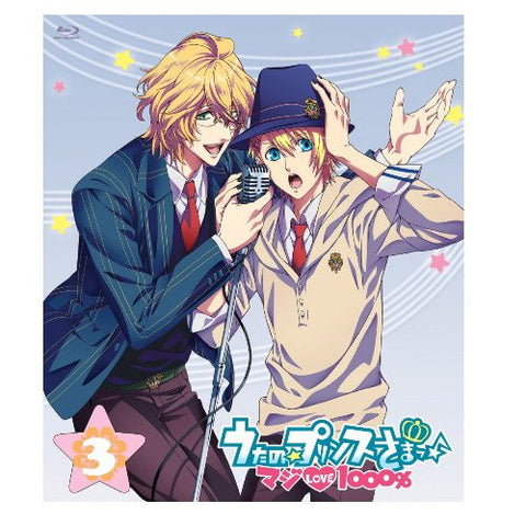 Uta No Prince Sama Maji Love 1000% 3 [Blu-ray+CD]