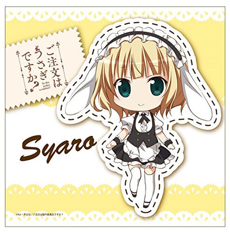 Image for Gochuumon wa Usagi Desu ka? - Kirima Sharo - Mini Towel - Towel (Contents Seed)