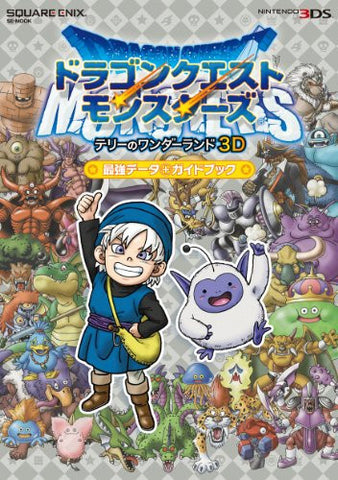Image for Dragon Quest Monsters 3 D Powerful Data Guide Book