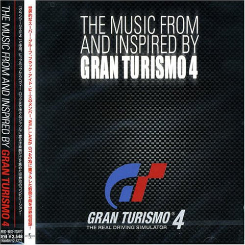 Image for THE MUSIC FROM AND INSPIRED BY GRAN TURISMO 4