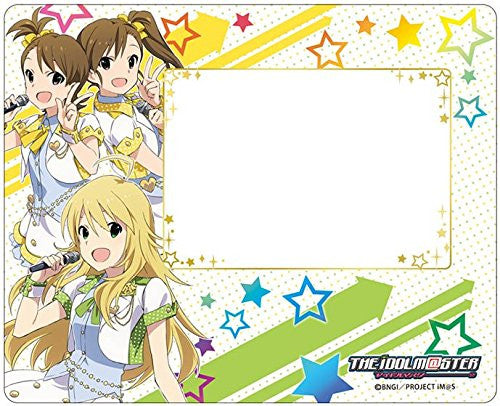 Image 1 for The Idolmaster Shiny Festa - Hoshii Miki - Futami Mami - Futami Ami - Mousepad - Photo Frame (Broccoli)