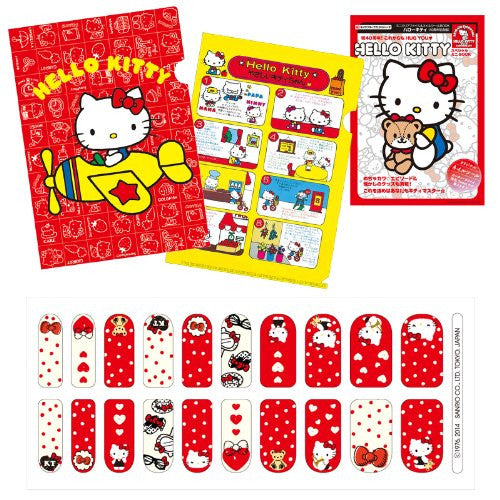 Image 7 for Hello Kitty   Mini Clear File And Nail Seal Book