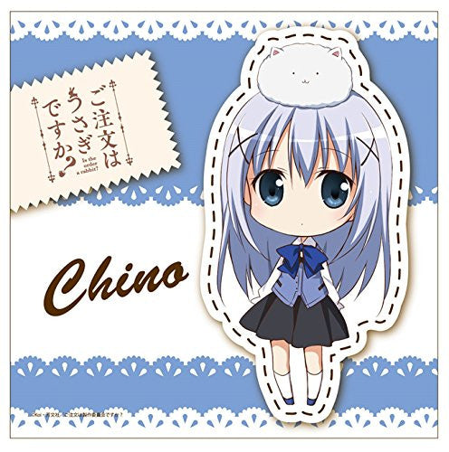 Image 1 for Gochuumon wa Usagi Desu ka? - Kafuu Chino - Tippy - Mini Towel - Towel (Contents Seed)