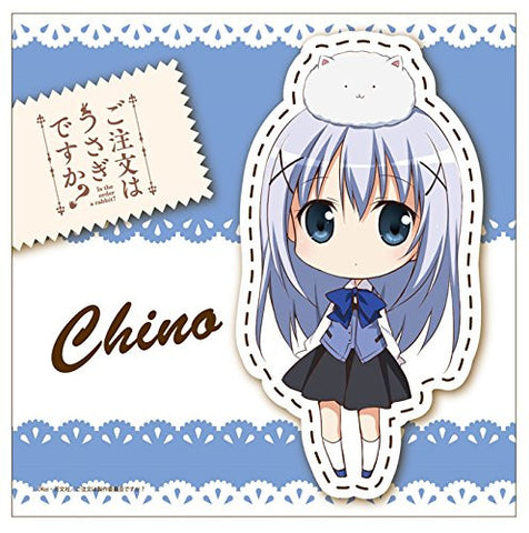 Image for Gochuumon wa Usagi Desu ka? - Kafuu Chino - Tippy - Mini Towel - Towel (Contents Seed)