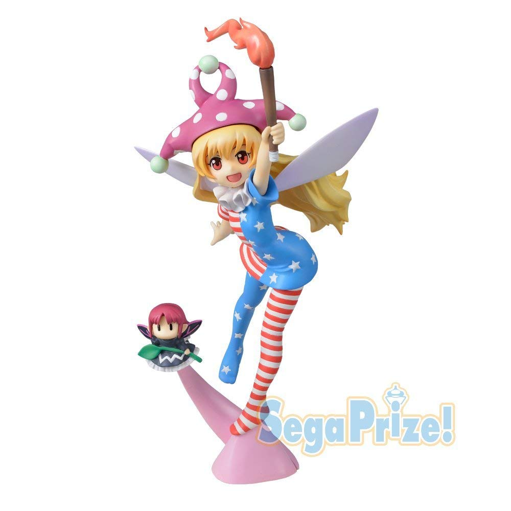 SEGA Touhou Project Premium Figure Cirno from Japan w// Tracking NEW