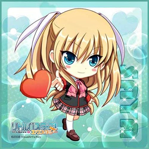 Image 1 for Little Busters! - Tokido Saya - Towel - Mini Towel - Heart Ver. (Broccoli)