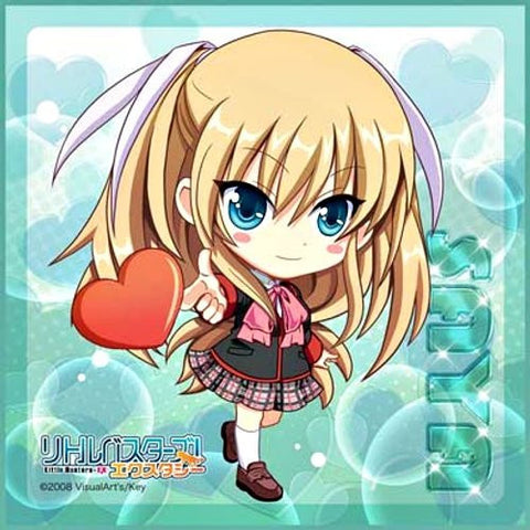 Image for Little Busters! - Tokido Saya - Towel - Mini Towel - Heart Ver. (Broccoli)