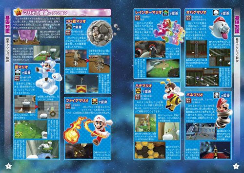 Image 2 for Super Mario Galaxy 2 Nintendo Dream Nintendo Game Strategy Guide Book / Wii