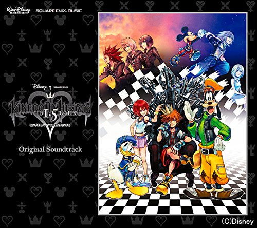 Image 1 for KINGDOM HEARTS -HD 1.5 ReMIX- Original Soundtrack