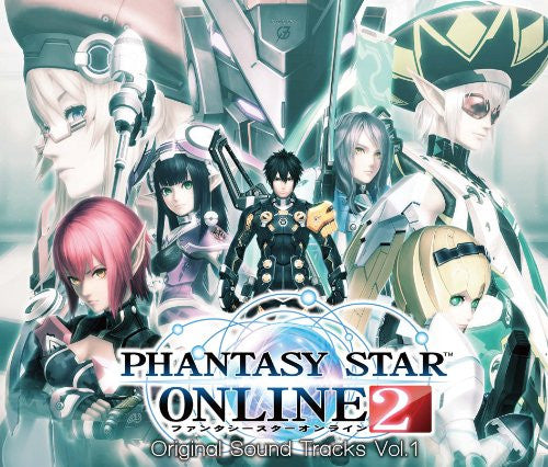 Image 1 for Phantasy Star Online 2 Original Sound Tracks Vol.1
