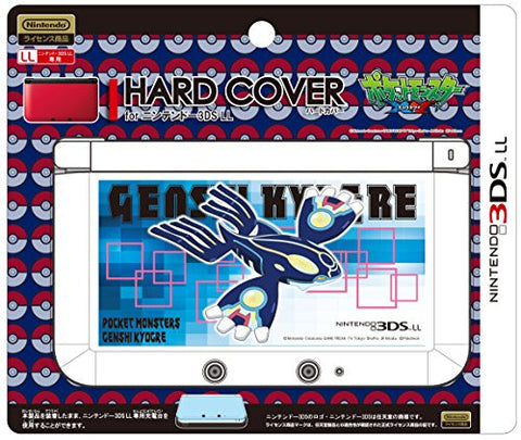 Image for Pokemon Hard Cover for 3DS LL (Genshi Kyogre)