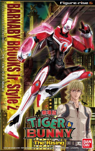 Image 2 for Tiger & Bunny - Gekijouban Tiger & Bunny -The Rising- - Barnaby Brooks Jr. - Figure-rise 6 - Style 2 (Bandai)
