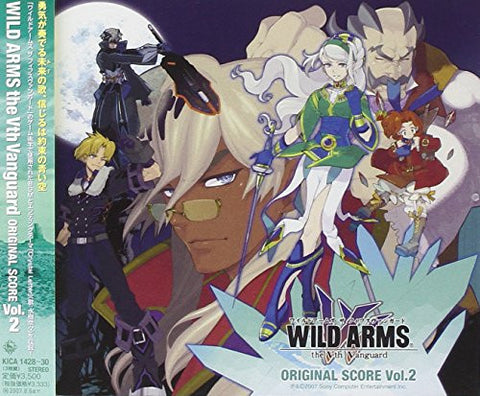 Image for WILD ARMS the Vth Vanguard Original Score Vol.2