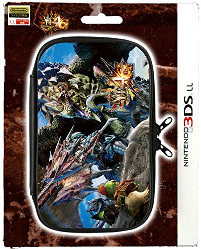 Image 1 for Monster Hunter 4G Pouch for 3DS LL