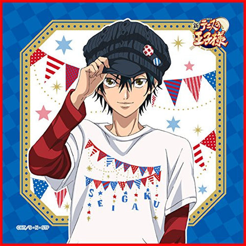 Image for Shin Tennis no Oujisama - Echizen Ryouma - Mini Towel - Shin Tennis no Ouji-sama Prince of Shirts Micro Fiber mini Towel (Broccoli)