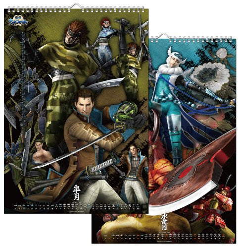 Image 4 for Sengoku Basara - Wall Calendar - 2013 (I's Entertainment)