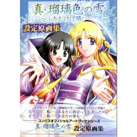 Image for Shin Ruriiro No Yuki Furimukeba Tonarini Analytics Illustration Art Book