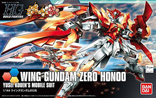 Image 4 for Gundam Build Fighters Honoo - XXXG-00W0CV Wing Gundam Zero Honoo - HGBF #033 - 1/144 (Bandai)