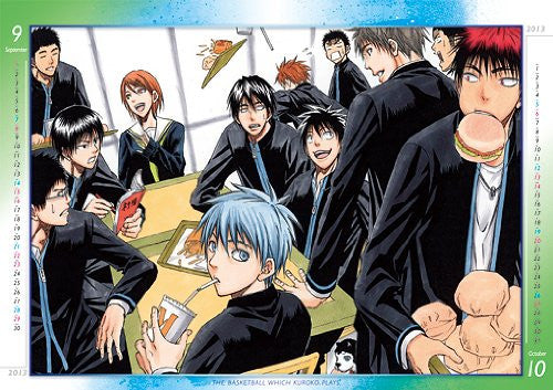 Image 2 for Kuroko no Basket - Comic Calendar - Wall Calendar - 2013 (Shueisha)[Magazine]