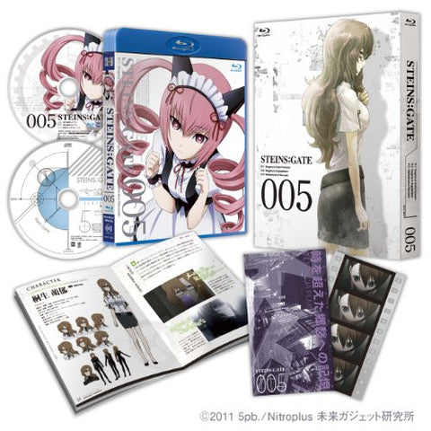 Image for Steins;Gate Vol.5 [Blu-ray+CD Limited Edition]