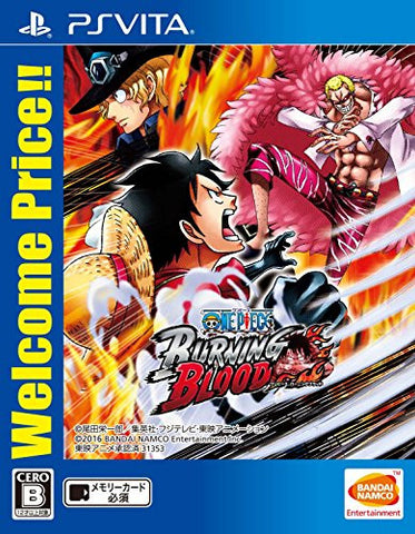 Image for One Piece: Burning Blood (Welcome Price!!)