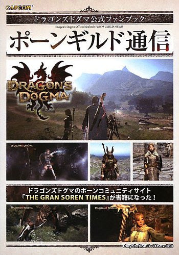Image 1 for Dragon's Dogma Pawn Guild News Official Fan Book / Ps3 / Xbox360
