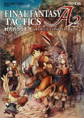Image 1 for Final Fantasy Tactics A2: Fuuketsu No Grimoire Official Complete Guide
