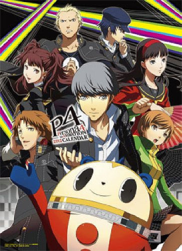 Image 1 for Persona 4: The Animation - Wall Calendar - 2012 (Ensky)[Magazine]