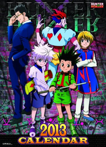 Image for Hunter x Hunter - Wall Calendar - 2013 (Ensky)[Magazine]