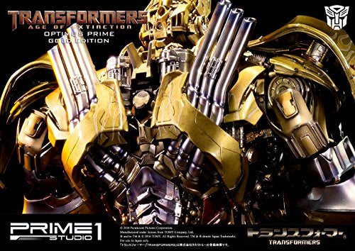 Image 4 for Transformers: Lost Age - Convoy - Museum Masterline Series MMTFM-07GL - Knight Edition, Gold Edition (Prime 1 Studio)