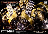 Thumbnail 4 for Transformers: Lost Age - Convoy - Museum Masterline Series MMTFM-07GL - Knight Edition, Gold Edition (Prime 1 Studio)
