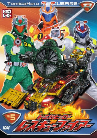 Image for Tomica Hero Rescue Fire Vol.5
