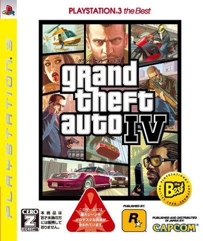 Image for Grand Theft Auto IV (PlayStation3 the Best)