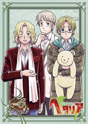 Image 1 for Hetalia Axis Powers Vol.6 [DVD+CD Limited Edition]