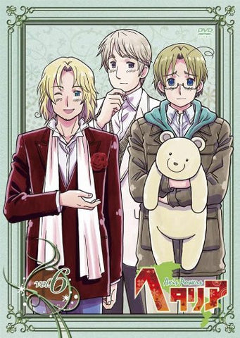 Image for Hetalia Axis Powers Vol.6 [DVD+CD Limited Edition]