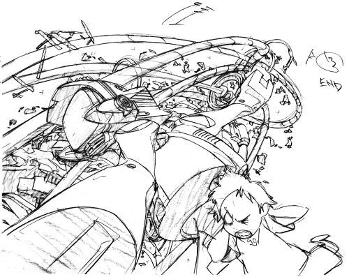 Image 4 for Furiculi Groundwork Of Flcl Original Picture Illustration Art Book