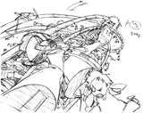 Thumbnail 4 for Furiculi Groundwork Of Flcl Original Picture Illustration Art Book