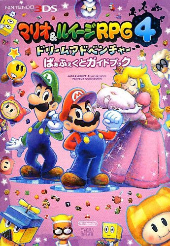 Image 1 for Mario & Luigi Rpg4 Dream Adventure Perfect Guide Book