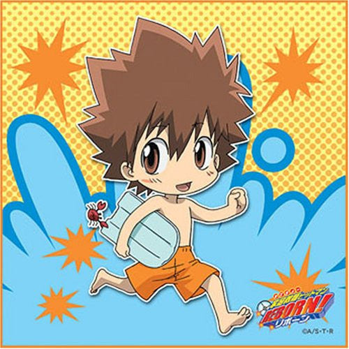 Image 1 for Katekyou Hitman REBORN! - Lambo - Towel - Mini Towel - 2008 Summer (Broccoli)