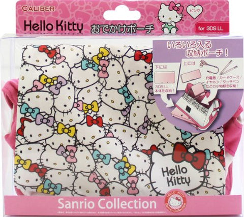 Image for Hello Kitty Odekake Pouch for 3DS LL (Pink)