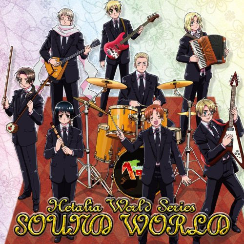 Image 1 for Hetalia World Series SOUND WORLD